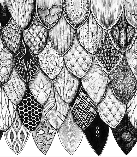 Detail of scale illustrations for FreestyleScales.
